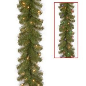 National Tree Co. 9' Light Up Christmas Sheffield